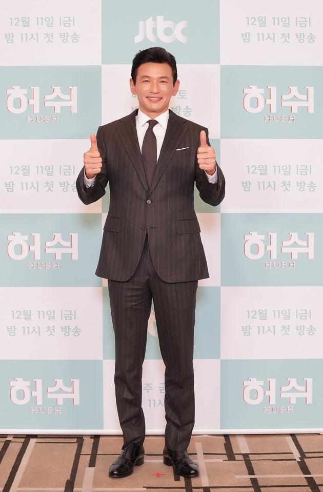 '허쉬' 배우 황정민./사진제공=JTBC