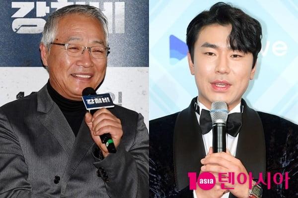 배우 이경영(왼쪽), 이시언/ 사진=텐아시아DB