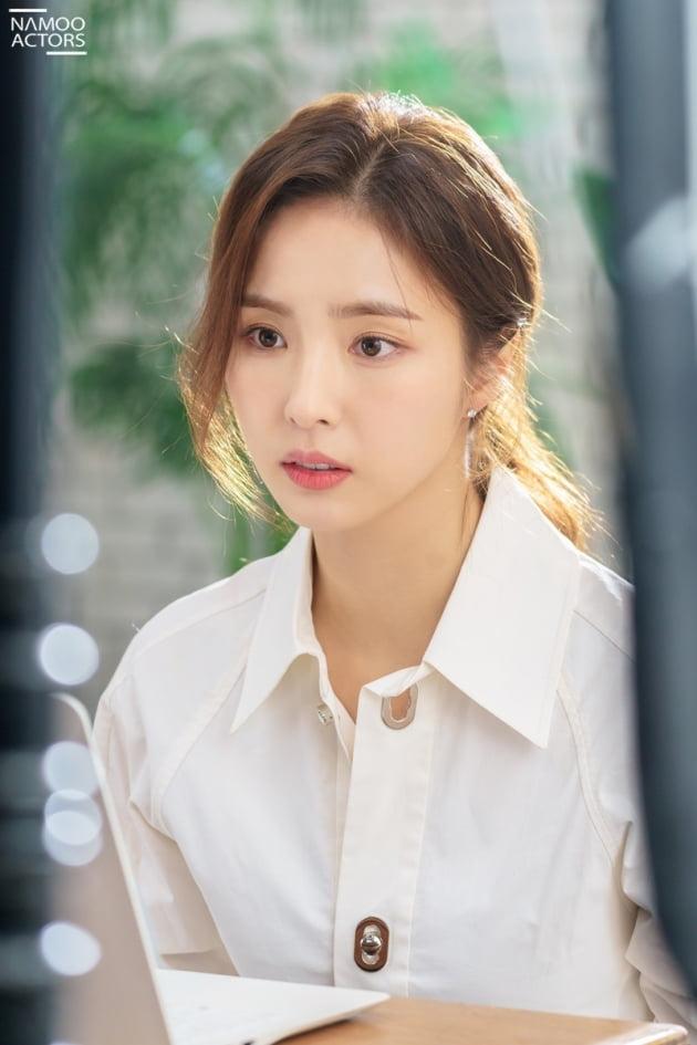 배우 신세경 '런온' 비하인드컷./ 사진제공=나무엑터스