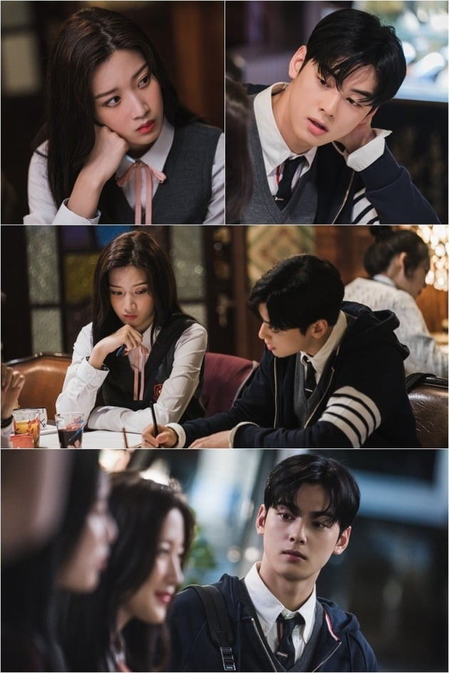 '여신강림' 스틸컷./사진제공=tvN