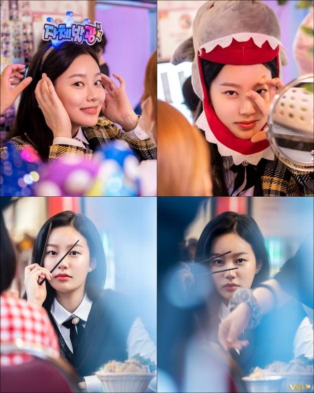 tvN 수목드라마 '여신강림'에 출연 중인 배우 박유나. /사진제공=WIP(더블유아이피)