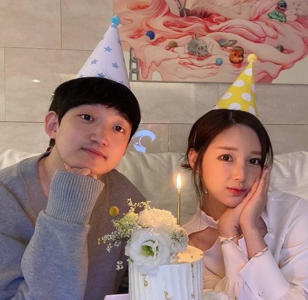 전선욱(왼쪽)과 야옹이 작가/ 사진=야옹이 인스타그램