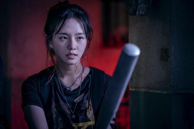 넷플릭스 오리지널 시리즈 '스위트홈'에 출연하는 배우 박규영. /사진=넷플릭스
