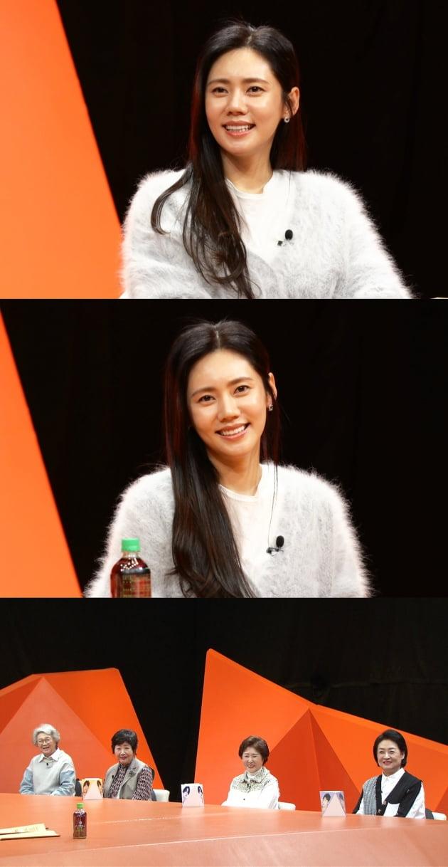 '미우새' 출연한 추자현/ 사진=SBS 제공