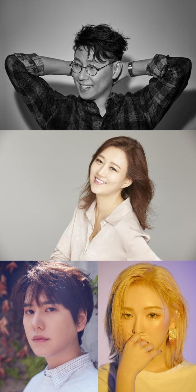 '신비한 레코드샵' MC 라인업/ 사진=JTBC 제공