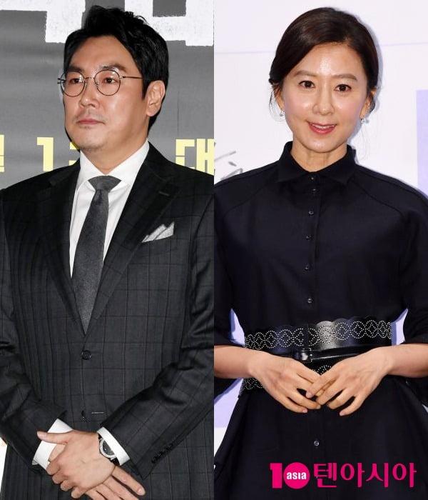 배우 조진웅, 김희애가 제7회 한국영화제작가협회상 남여주연상을 수상했다. / 사진=텐아시아DB