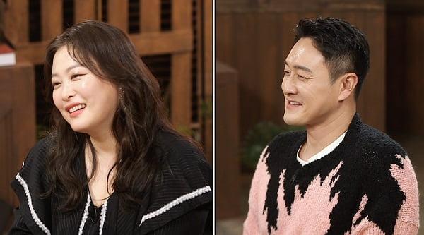 개그맨 심진화(왼쪽)와 김원효/ 사진=SBS플러스 제공