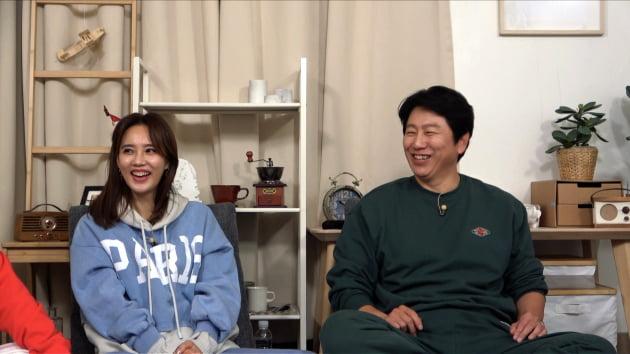 '옥탑방의 문제아들' 게스트 오현경(왼쪽), 김수로/ 사진=KBS2 제공