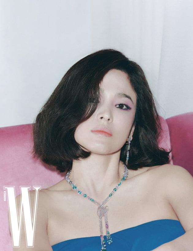 배우 송혜교 / 사진제공=W Korea