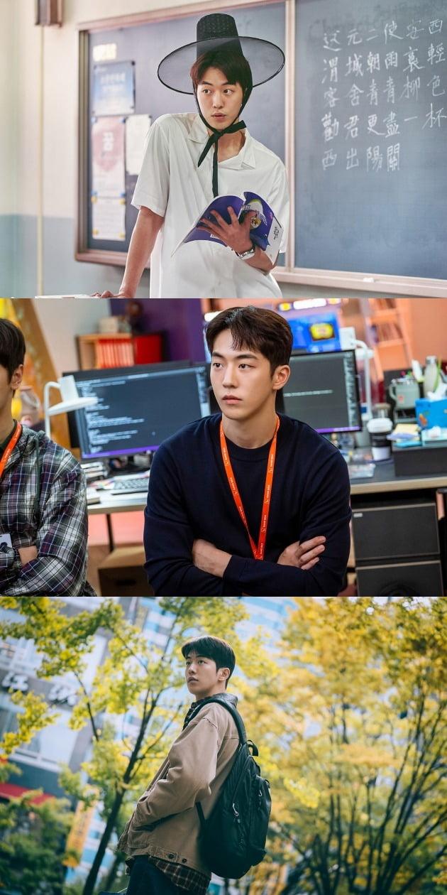 '보건교사 안은영'(위부터), '스타트업', '조제'의 남주혁 / 사진제공=넷플릭스, tvN, 워너브러더스 코리아