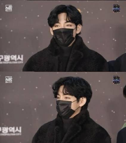 """'가요대전' 방탄소년단 뷔 """"'Snow Flower' 깜짝 공개 이유? 아미에게 미안해서"""""""