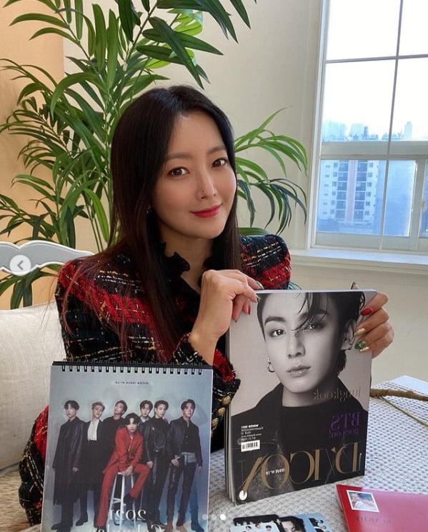 /사진 = 김희선 인스타그램