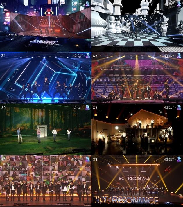 'Beyond LIVE - NCT 'Global Wave'' / 사진제공=SM엔터테인먼트