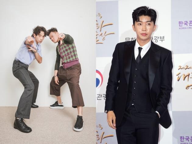 비X박진영(왼쪽)과 임영웅/ 사진='시즌비시즌', 텐아시아DB