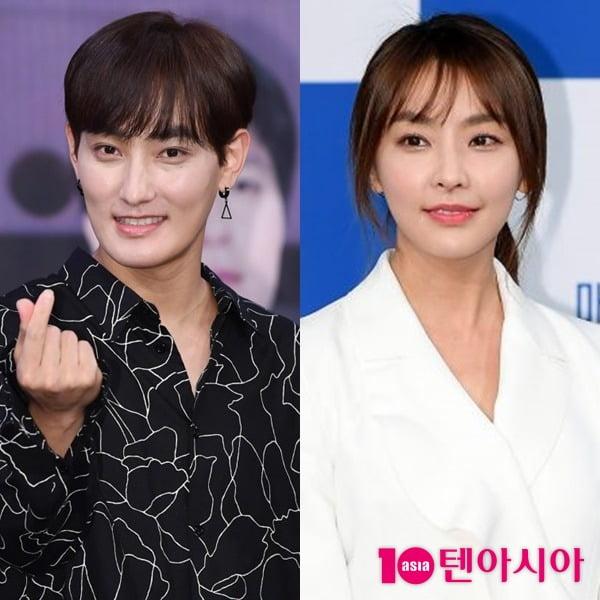 가수 강타(왼쪽)과 배우 정유미/ 사진 = 텐아시아 사진DB
