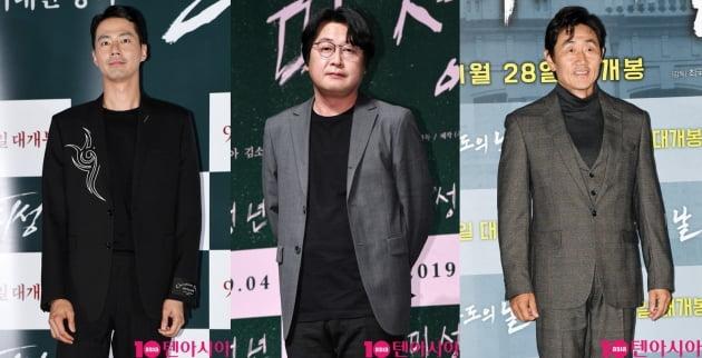 '모가디슈' 조인성, 김윤석, 허준호./ 사진=텐아시아DB
