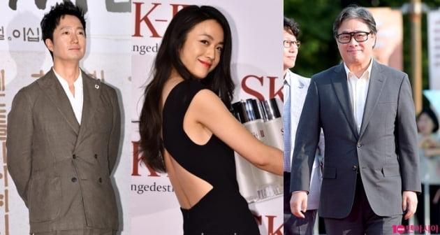 '헤어질 결심' 박해일, 탕웨이, 박찬욱./ 사진=텐아시아DB