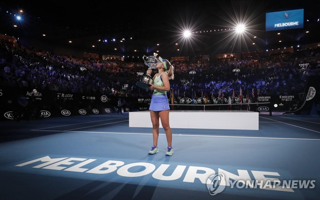 2021년 호주오픈 테니스 여자 예선은 1월 두바이서 개최
