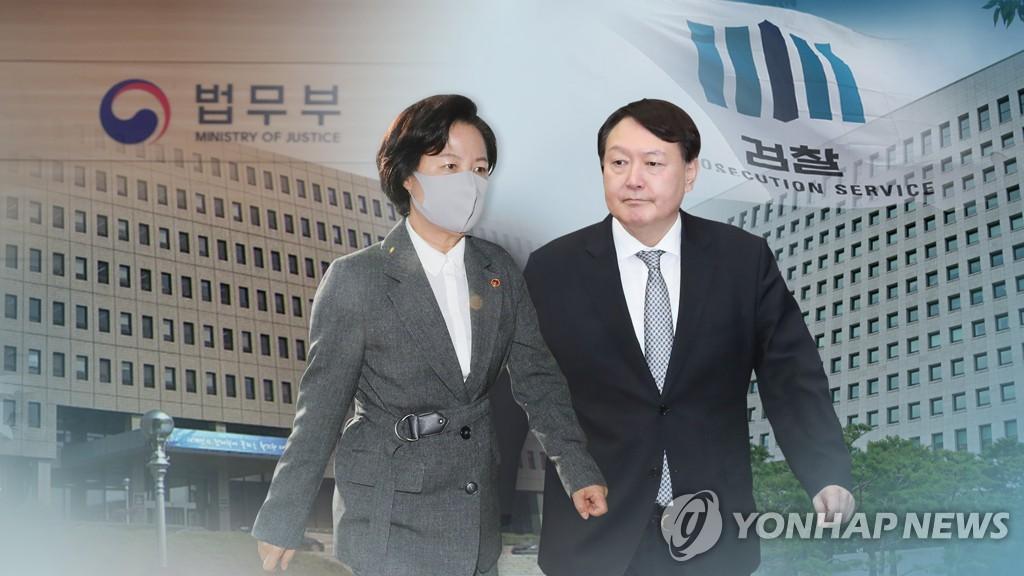 [일지] 秋·尹 갈등 시작부터 검사징계위 개최까지(종합)