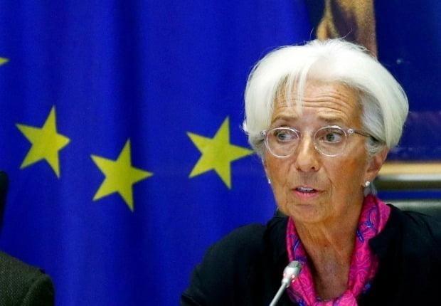 크리스틴 라가르드 유럽중앙은행(ECB) 총재   /연합뉴스