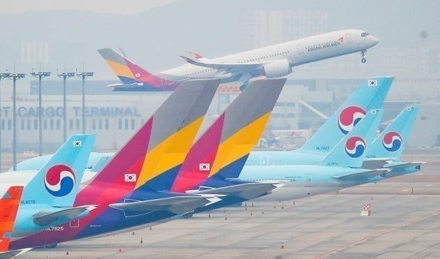 '9부 능선'을 넘은 대한항공의 아시아나항공 인수 작업이 '마지막 관문'인 공정거래위원회의 기업결합 심사에 다다랐다. 사진=연합뉴스