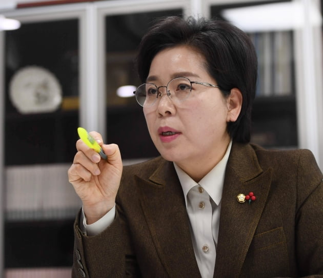 양향자 더불어민주당 의원. 신경훈 기자 khshin@hankyung.com