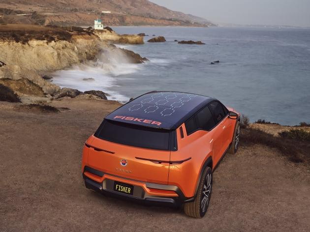 마그나가 차량 플랫폼을 공급하고 단독 생산하기로 한 피스커의 전기차 오션SUV 모델 / 마그나 홈페이지