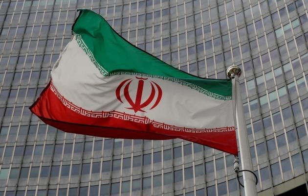 오스트리아 빈 국제원자력기구(IAEA) 본부 앞에 게양된 이란 국기. 로이터연합뉴스