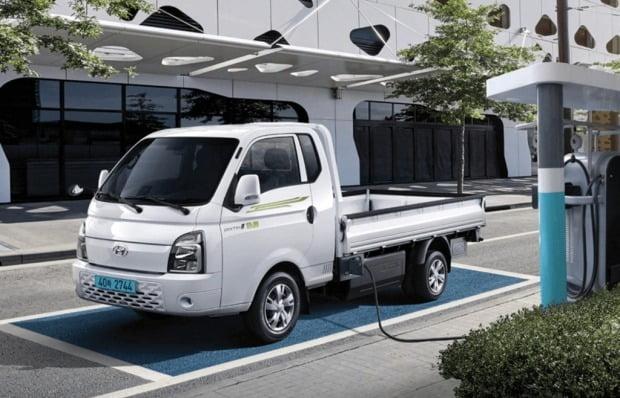 현대차의 소형 전기 화물차 포터 일렉트릭. 사진=현대차