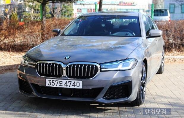 BMW 540i X드라이브. 사진=오세성 한경닷컴 기자