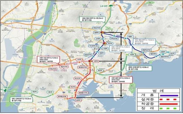 달리는 '도로 위 지하철' S-BRT…주목해야 하는 이유