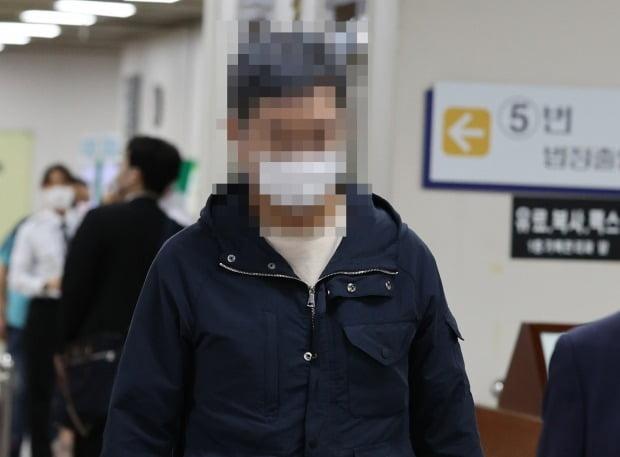 웅동중학교 교사 채용 비리 등의 혐의로 재판에 넘겨진 조국 전 법무부 장관의 동생 조권씨. 사진=연합뉴스