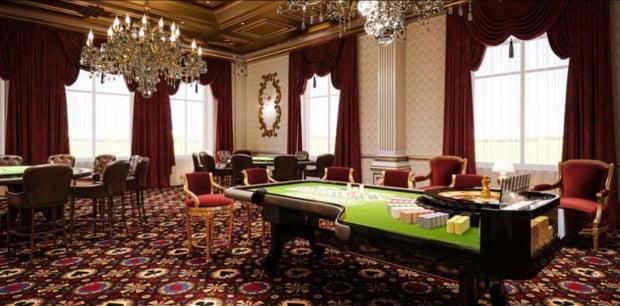 사진은 나발니가 공개한 푸틴 대통령 저택의 내부 모습을 캡처한 것. 카지노의 모습으로 추정된다. (사진=palace.navalny.com 캡처)