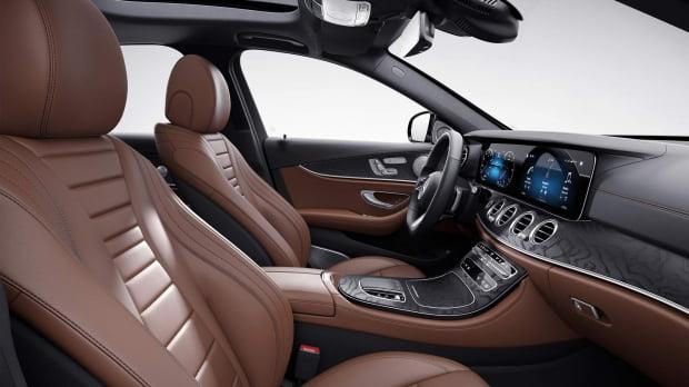 메르세데스-벤츠 E350 4매틱 AMG라인 실내 모습. 사진=메르세데스-벤츠