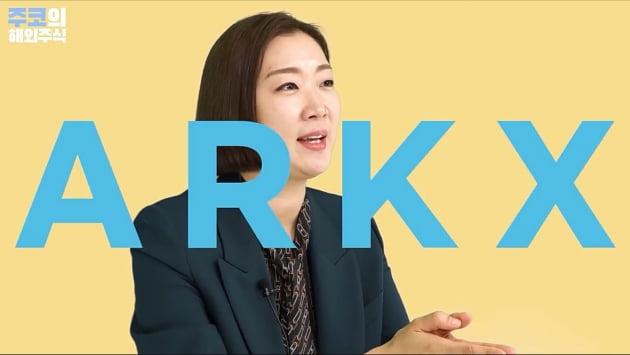 아크인베스트가 출시 예정인 우주탐사 ETF ARKX / 주코노미 캡처