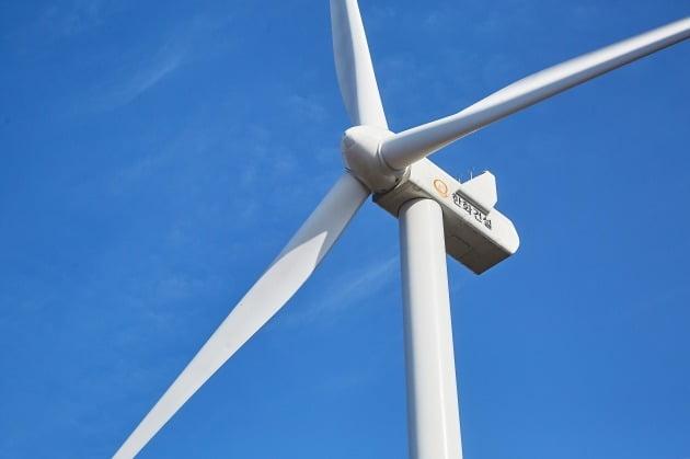 한화건설의 풍력 발전 설비. / 자료=한화건설