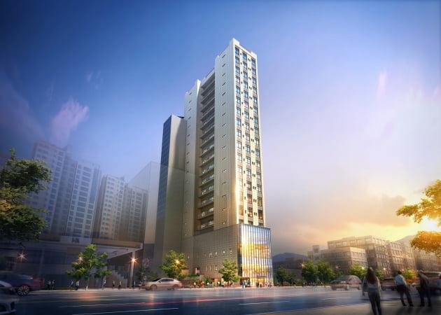 멀티 역세권 소형 복층 오피스텔 '왕십리역 요진 와이하우스' 시선집중