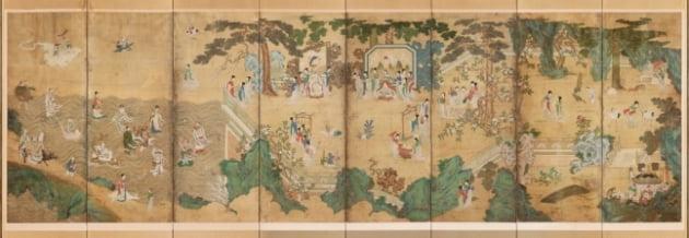국립고궁박물관이 최근 공개한  '요지연도'. 국립고궁박물관 제공
