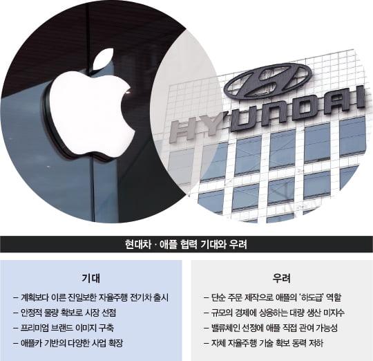 애플카 참여 저울질…'전기차 빅뱅' 핵으로 부상한 현대차그룹