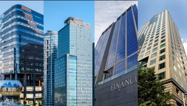국내 상장 리츠들이 보유하고 있는 빌딩들