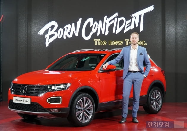 [포토] 스타일리시 SUV 폭스바겐 '티록' 공개