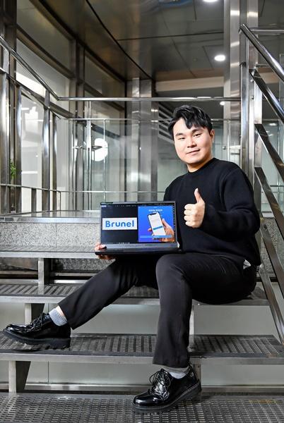[서울창업허브 우수기업 ⑬] 박상준 디앤아이파비스 대표, 변리사도 사용하는 간편한 AI 특허 조사관 '브루넬'