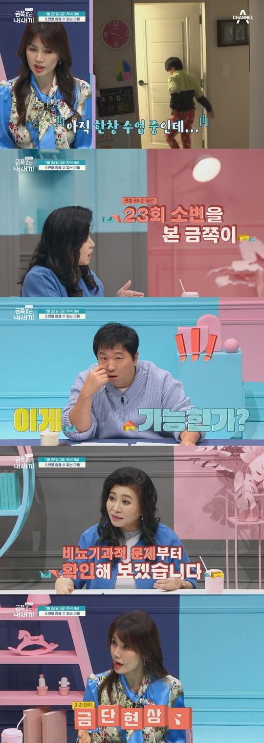 '금쪽같은 내새끼' 신애라 (사진=채널A)