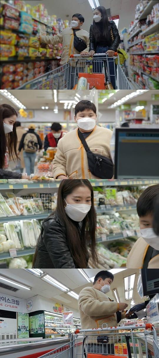 '편스토랑' 오윤아와 민이 (사진= KBS 2TV)