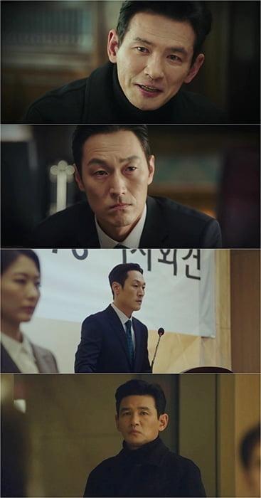 '허쉬' 황정민X김재철, 은밀한 작전 타임 포착 '흥미진진'