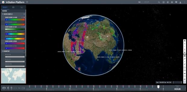 한컴인스페이스, 위성 관제, 위성정보의 처리 및 분석, 관리, 배포 기술 개발