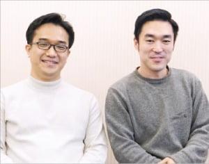 류로빈 아틀라스랩스 대표(오른쪽)와 조태영 최고기술책임자(CTO).