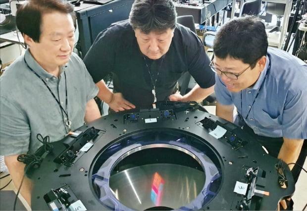 한국전자통신연구원(ETRI)이 CES 2021에서 선보이는 '디지털 홀로그래픽 디스플레이' 기술.   ETRI 제공