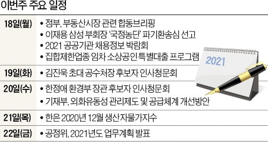 [월요전망대] 18일 또 '부동산 브리핑'…25번째 대책 '힌트' 내놓나
