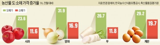 30% 뛴 채소값, 마트선 15%로 막은 비결은